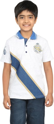 Seals Solid Boy's Polo Neck T-Shirt