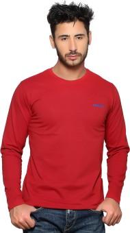 Nucode Solid Men's Round Neck T-Shirt