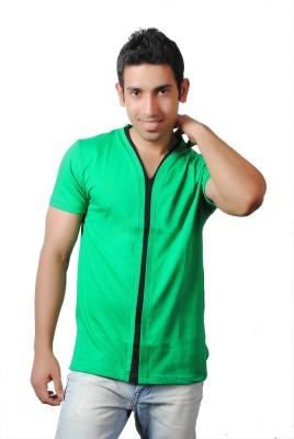 Brand Teez Solid Men's V-neck T-Shirt