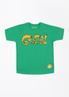 Garfield Garfield Printed Boy Round Neck Tshirt