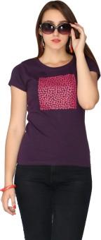 Max Printed Women's Round Neck T-Shirt - TSHEYUZ2BMXBGSHG