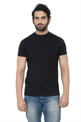 Karnik Couture Solid Men's Round Neck T-Shirt