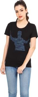 Filmwear Printed Women's Round Neck T-Shirt - TSHE9K7GGJWTXJNS