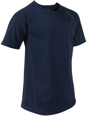 Quechua Solid Girl's Round Neck T-Shirt