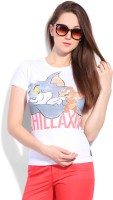 Tom & Jerry Printed Women's Round Neck T-Shirt