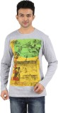 Gravity Plus Printed Men's Round Neck T-...