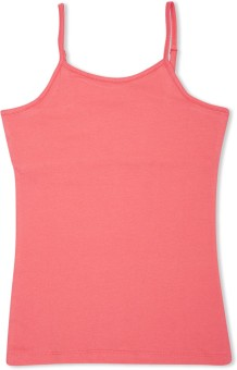 Max Solid Girl's Round Neck T-Shirt