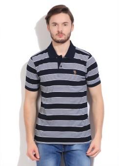 U.S.Polo.Assn Striped Men's Polo T-Shirt