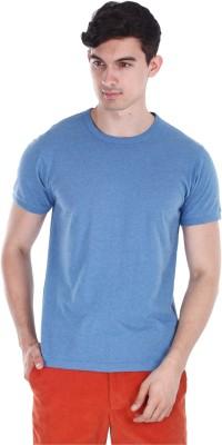 Zobello Solid Men's Round Neck T-Shirt