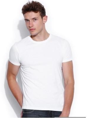 Look Fabs Solid Men,s, Boy's Round Neck T-Shirt