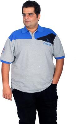 Xmex Solid Men's Polo Neck T-Shirt