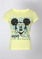 Mickey & Friends Printed Women's Round Neck T-Shirt