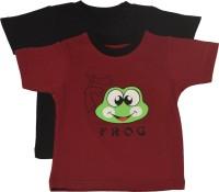 TSG My Kid Printed Baby Boy's, Baby Girl's Round Neck T-Shirt (Pack Of 2) - TSHED8BJGMUFDZPM