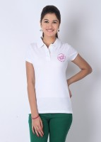 Inkfruit Printed Women's Polo Neck T-Shirt