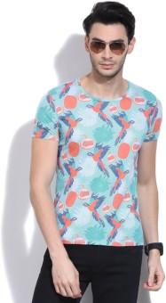 United Colors Of Benetton Printed Men's Round Neck T-Shirt - TSHE5WZQH4N2VHDU