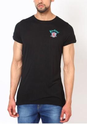 Blacksoul Solid Men's Round Neck T-Shirt