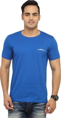 BBB Solid Men's Round Neck T-Shirt
