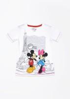 Disney Printed Boy's Round Neck T Shirt