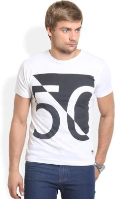 HW Printed Men,s Round Neck T-Shirt