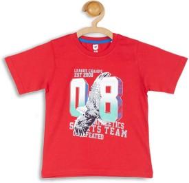 612 League Graphic Print Boy's Round Neck T-Shirt - TSHEFHZHFXGBQPFH