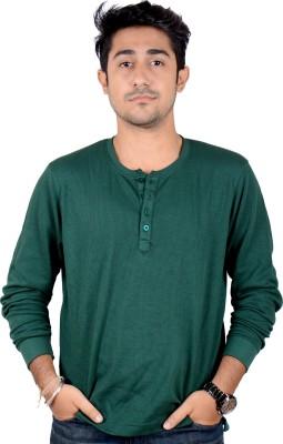 Labscraft Solid Men's Henley T-Shirt