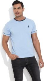Smokestack Solid Men's Round Neck T-Shirt