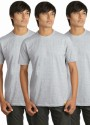 Campus Sutra Solid Men's Round Neck T-Shirt - Pack Of 3