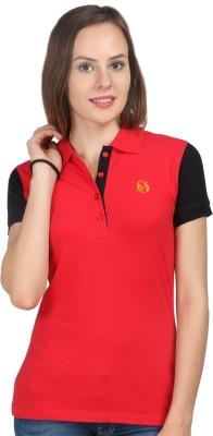 Oriel Merton Solid Women's Polo T-Shirt