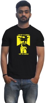Lovely Collection Breaking Bad Danger Graphic Print Men's Round Neck T-Shirt