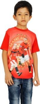 Shaun Printed Boy's Round Neck T-Shirt