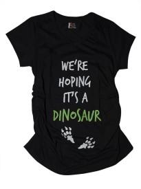 You Got Plan B Graphic Print Women's V-neck Black T-Shirt