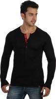 Rigo Solid Men's Henley T-Shirt - TSHDWG8GZZJEPQKZ
