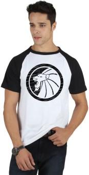 SayItLoud Graphic Print Men's Round Neck White, Black T-Shirt