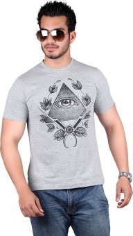 Lluminati Graphic Print Men's T-Shirt