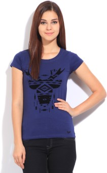 Flying Machine Women's T-Shirt - TSHEBGYKN6Z8VS7Z
