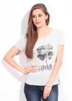 United Colors Of Benetton Printed Women's Round Neck T-Shirt - TSHDU6U9M9VKYR5S