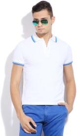 Giordano Solid Men's Polo T-Shirt
