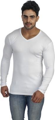Male Basics Solid Men's V-neck T-Shirt