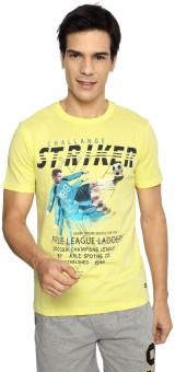 Ajile By Pantaloons Printed Men's Round Neck T-Shirt - TSHE8YVYYWDMHMED