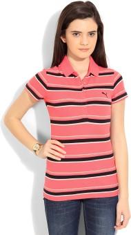 PUMA Striped Women's Polo T-Shirt