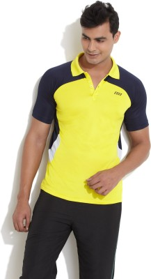 Edge Edge Solid Men's Polo T-Shirt (Yellow)
