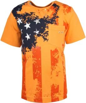 Joshua Tree Printed Boy's Round Neck T-Shirt - TSHE6JJFGZEYNYEZ