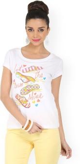 Max Printed Women's Round Neck T-Shirt