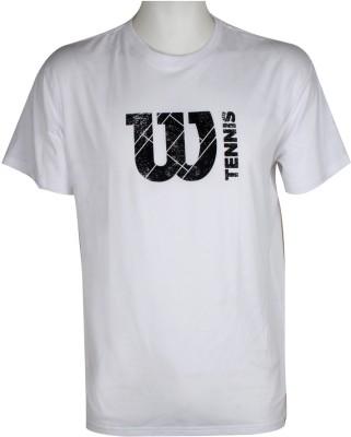Wilson Solid Men's Round Neck T-Shirt