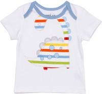 Mom&Me Printed Baby Boy's Round Neck T-Shirt - TSHE7CZFZBYXSZMA