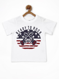 Yellow Kite Printed Boy's Round Neck T-Shirt - TSHE6HEZGJECHTEC