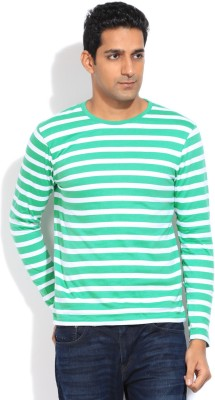 Bossini BOSSINI Striped Men's Round Neck T-Shirt (Multicolor)