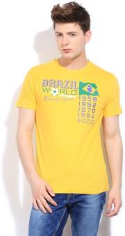 Bossini Bossini Printed Men Round Neck Tshirt