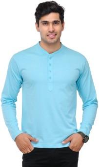 TSX Solid Men's Henley T-Shirt: T-Shirt