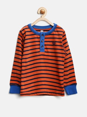 612 League Striped Boy's Round Neck T-Shirt